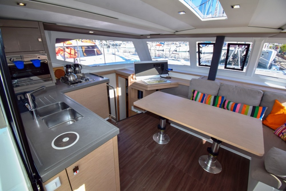 Boat rental Marmaris cheap Fountaine Pajot Lucia 40