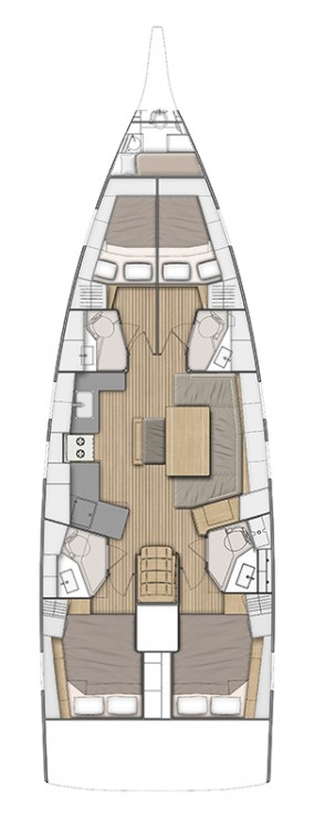 Boat rental Peloponnese cheap Oceanis 46.1 (4 cab)