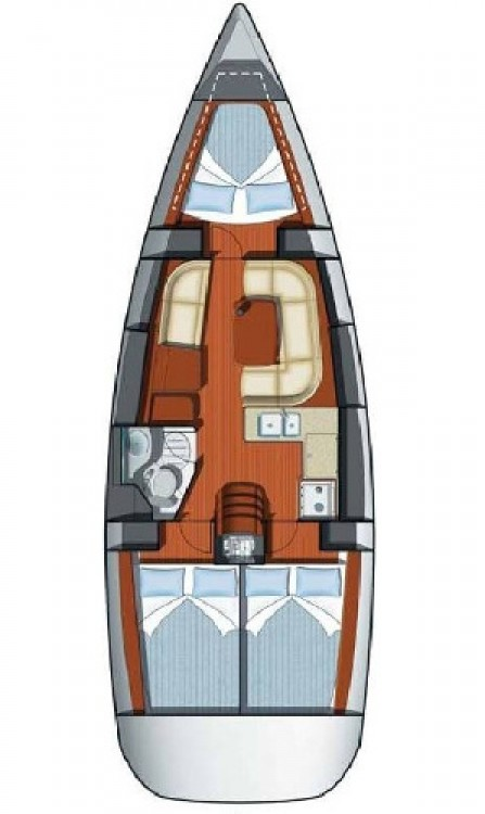 Boat rental  cheap Sun Odyssey 37