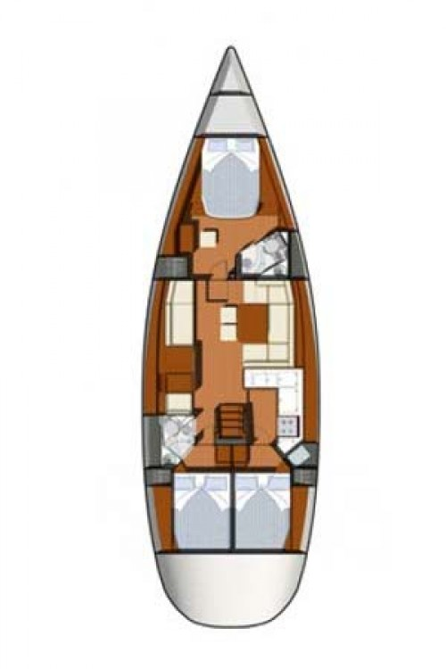 Boat rental Marmaris Yacht Marina A.Ş cheap Sun Odyssey 50 DS - 3 cab.