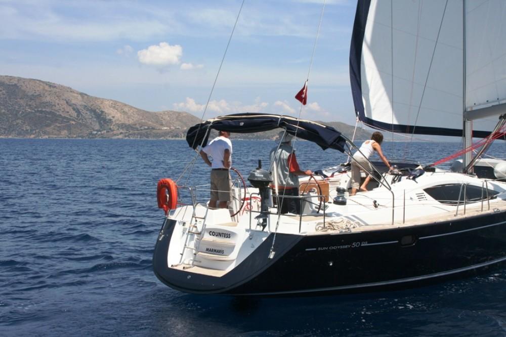 Boat rental Jeanneau Sun Odyssey 50 DS - 3 cab. in Marmaris Yacht Marina A.Ş on Samboat