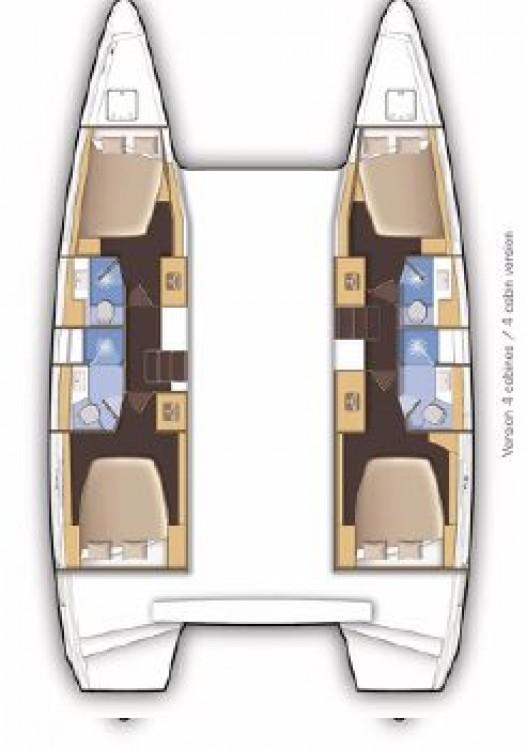 Boat rental Peloponnese cheap Lagoon 46 - 4 + 2 cab.