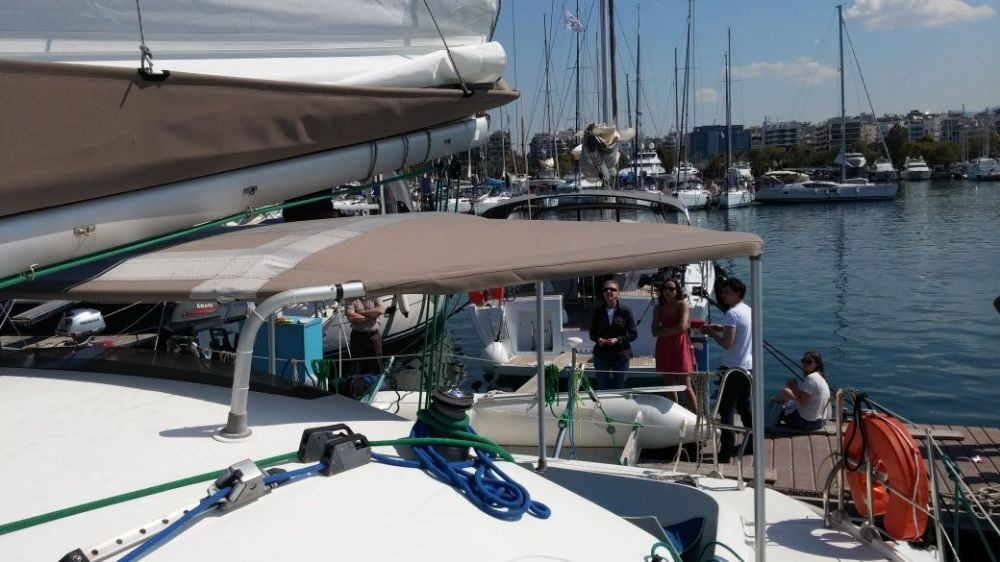 Boat rental Fountaine Pajot Athena 38 in Péloponnèse on Samboat