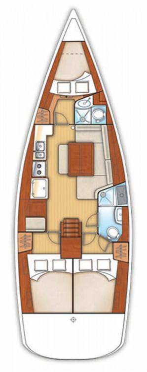 Boat rental Bénéteau Oceanis 40 in Vólos on Samboat