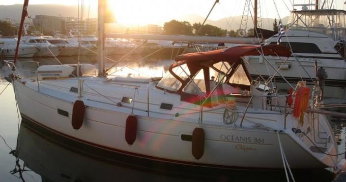 Boat rental Alimos cheap Oceanis 361
