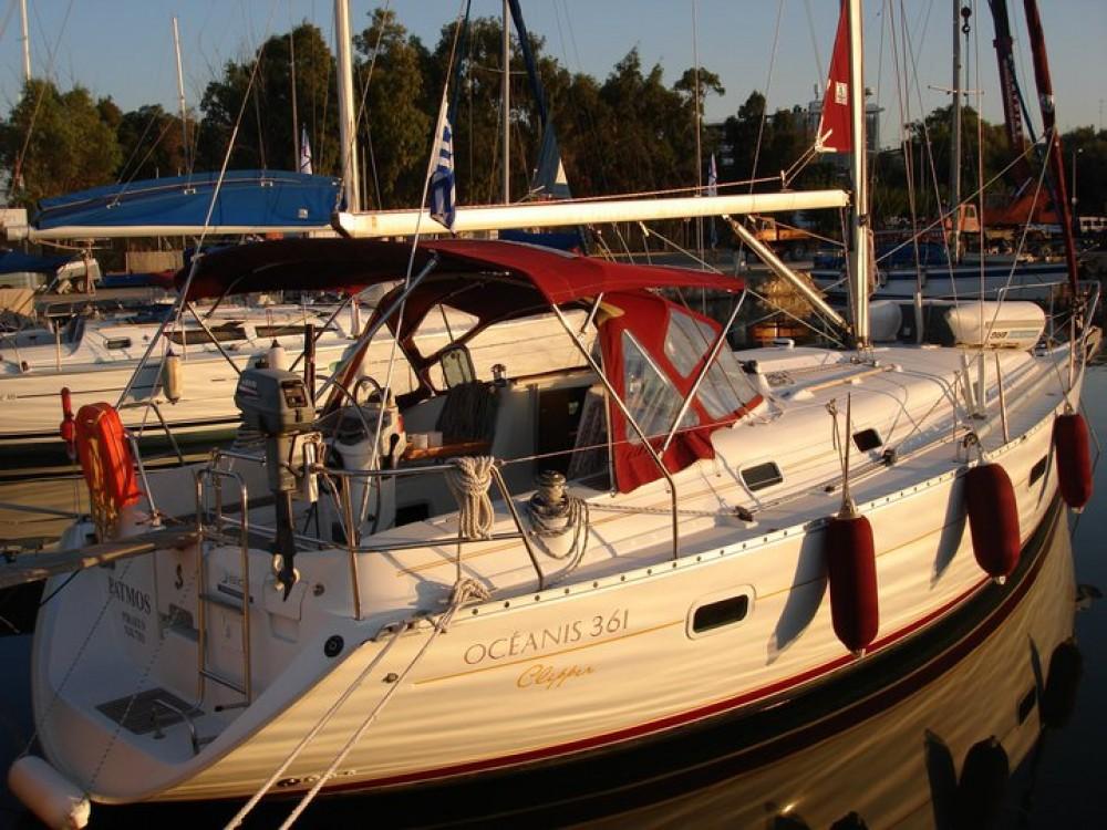 Rent a Bénéteau Oceanis 361 Peloponnese