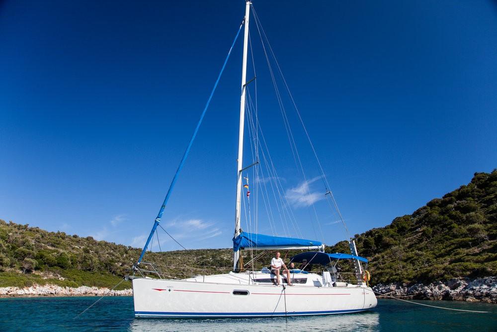 Rental Sailboat in Vólos - Jeanneau Sun Odyssey 36i