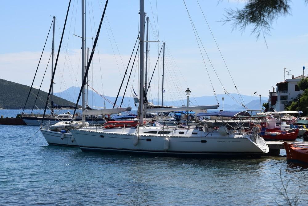 Rental yacht Vólos - Jeanneau Sun Odyssey 45.1 - 4 cab. on SamBoat