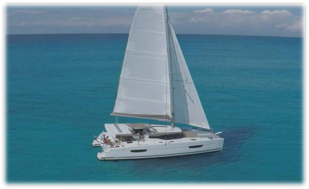 Fountaine Pajot Fountaine Pajot Lucia 40 between personal and professional Grad Zadar