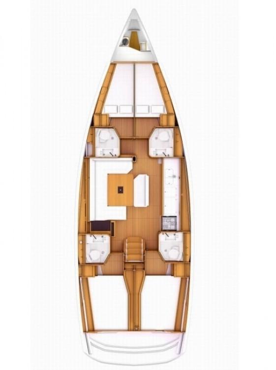 Rental yacht Péloponnèse - Jeanneau Sun Odyssey 519 on SamBoat