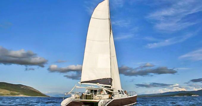 Caribe Catamarans ( Nevis / St. Kitts ) Caribe 70 Catamaran between personal and professional Gouvia