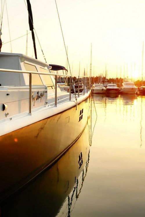 Boat rental Corfu cheap Caribe 69 Catamaran