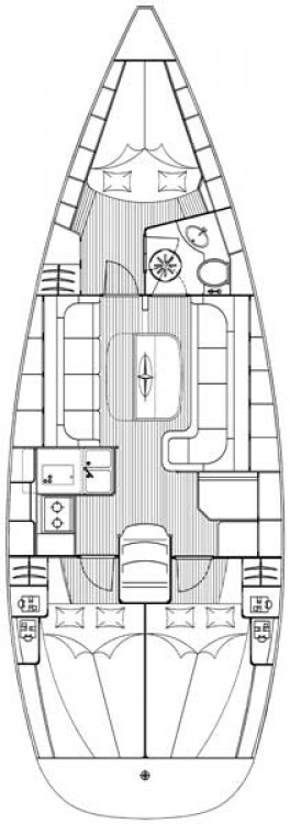 Sailboat for rent South Aegean at the best price