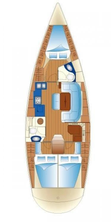 Rental yacht Mykonos - Bavaria Bavaria 43 Cruiser on SamBoat