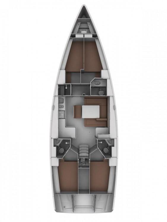 Boat rental Lefkada cheap Cruiser 45