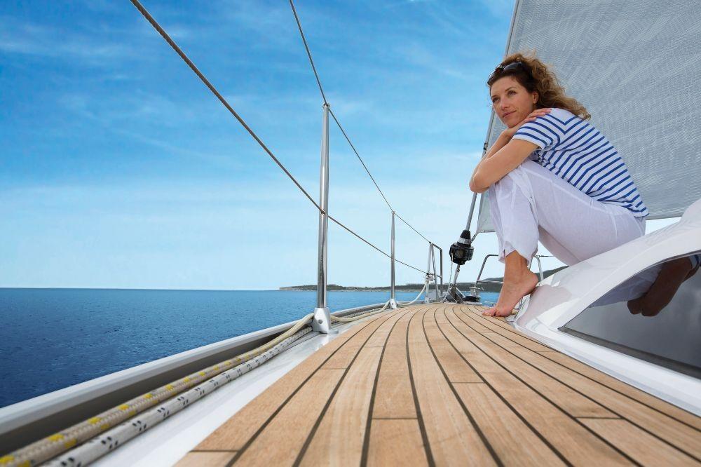 Boat rental Lefkada cheap Bavaria Cruiser 51