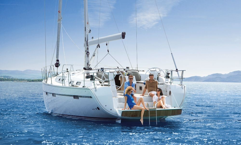 Bavaria Bavaria Cruiser 51 between personal and professional Mykonos