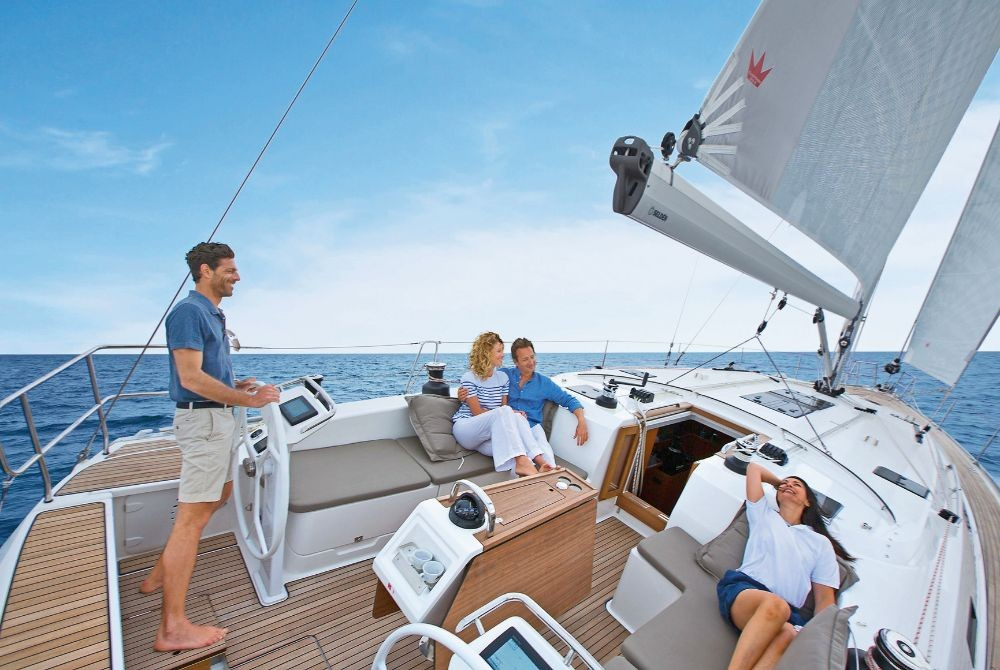 Boat rental Mykonos cheap Bavaria Cruiser 51