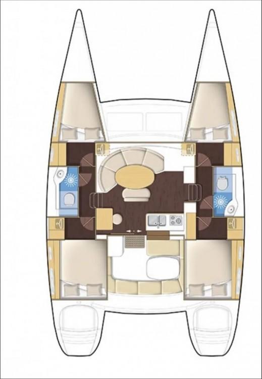 Rental yacht Peloponnese - Lagoon Lagoon 380 - 4 + 2 cab. on SamBoat