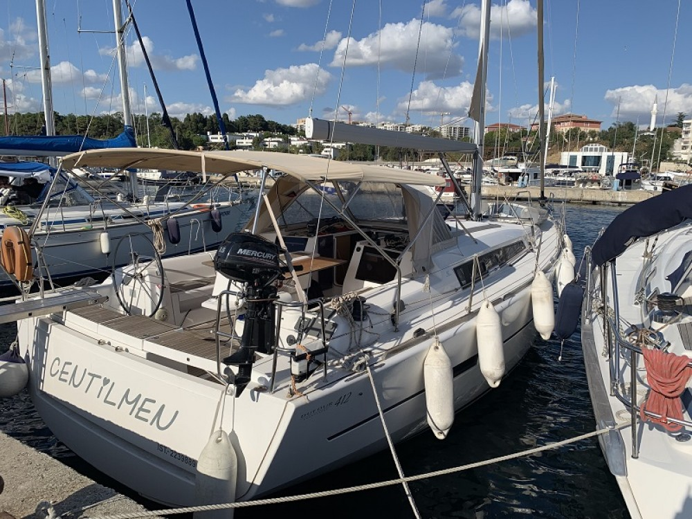 Rental Sailboat in Fethiye - Dufour Dufour 412 GL