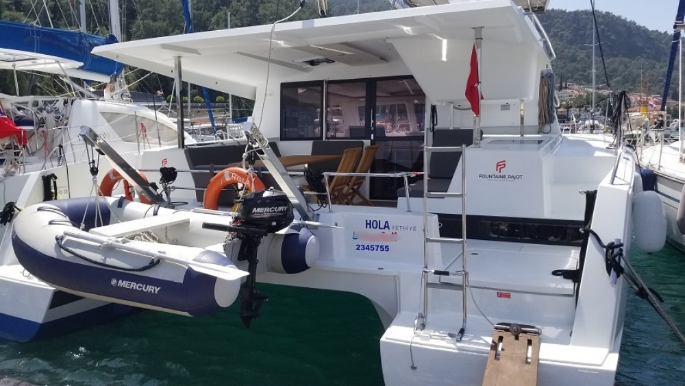 Rental Catamaran in Fethiye - Fountaine Pajot Fountaine Pajot Lucia 40