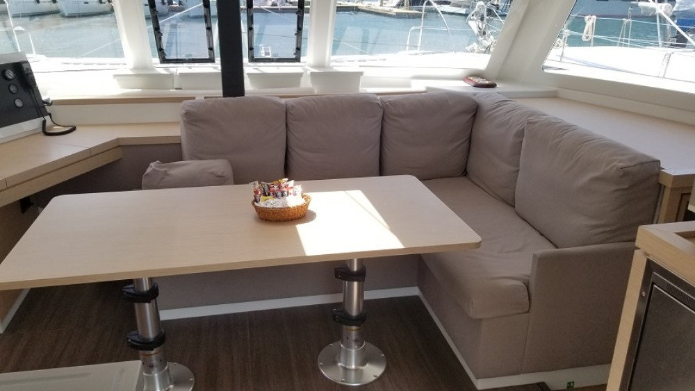 Boat rental Fethiye cheap Fountaine Pajot Lucia 40