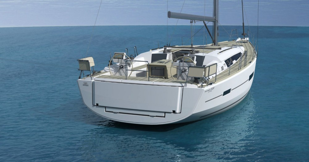Dufour Dufour 520 GL between personal and professional Mykonos