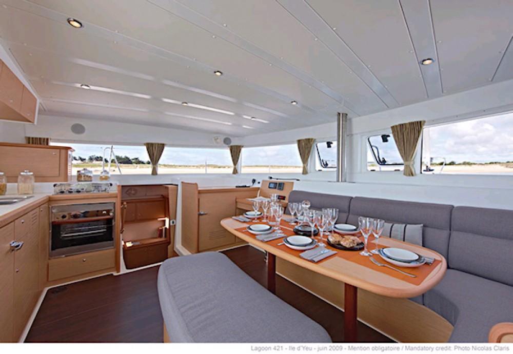 Rental yacht Îles Ioniennes - Lagoon Lagoon 42 - 4 + 2 cab. on SamBoat