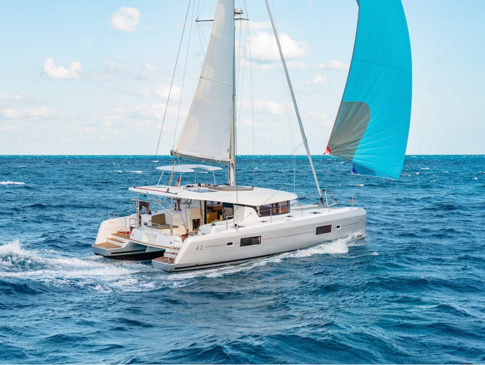 Boat rental Mykonos cheap Lagoon 42 - 4 + 2 cab.