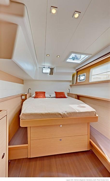 Rental yacht Páros - Lagoon Lagoon 450 - 4 + 2 cab. on SamBoat