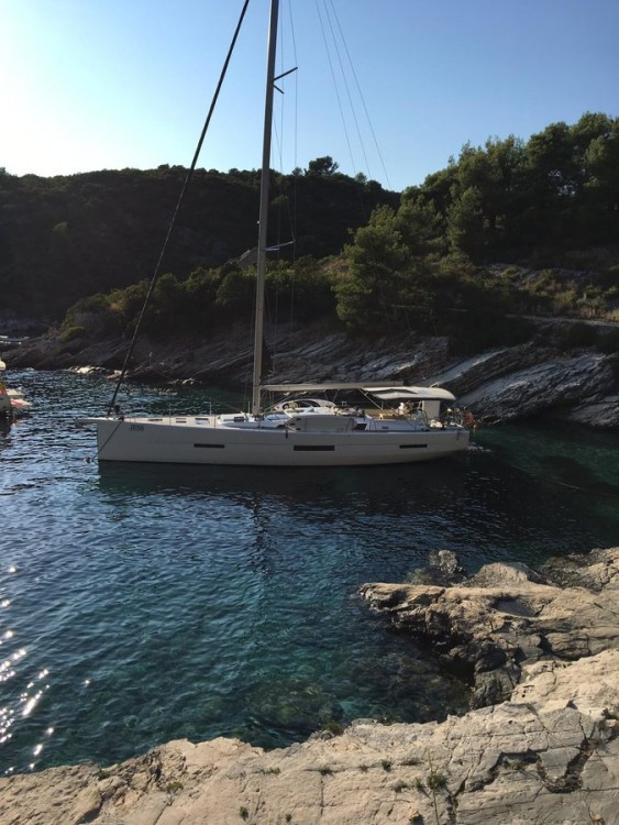 Rental yacht  - Dufour Dufour Exclusive 56 - 4 + 1 cab. on SamBoat
