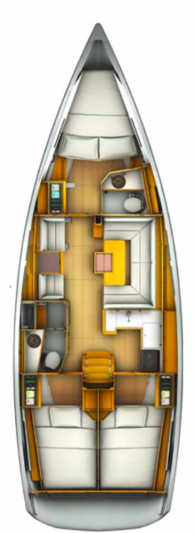 Jeanneau Sun Odyssey 409 between personal and professional Vólos