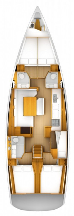 Jeanneau Sun Odyssey 519 - 5 + 1 cab. between personal and professional