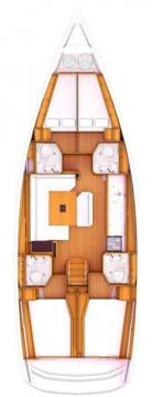 Boat rental Skiathos cheap Sun Odyssey 479