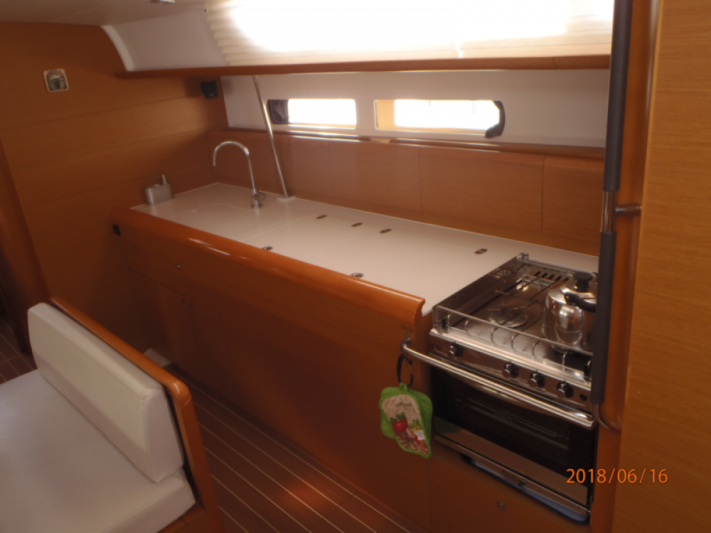 Jeanneau Sun Odyssey 479 - 4 cab. between personal and professional Volos