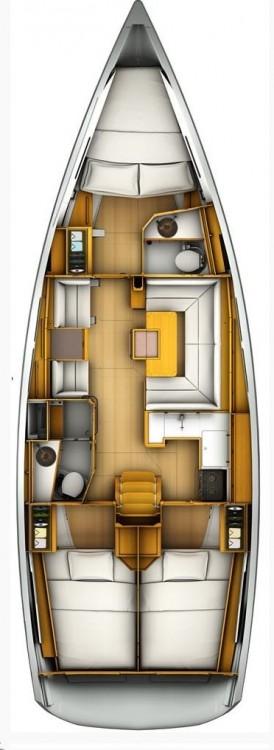 Rental Sailboat in Lefkada - Jeanneau Sun Odyssey 419