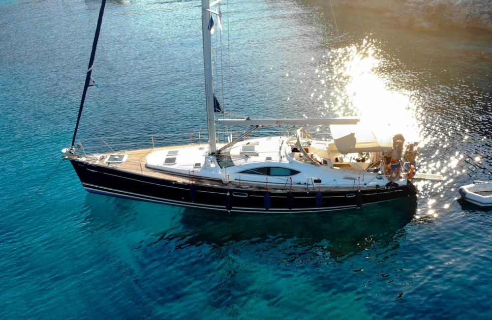 Rental Sailboat in Lefkada - Jeanneau Sun Odyssey 49 DS