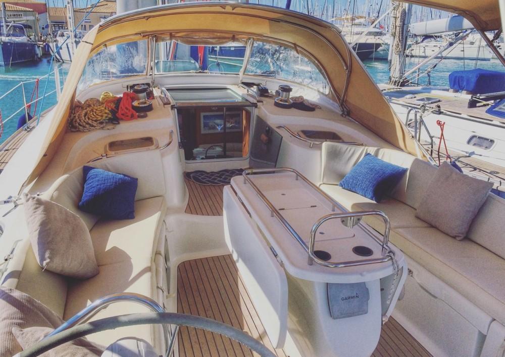 Boat rental Lefkada cheap Sun Odyssey 49 DS