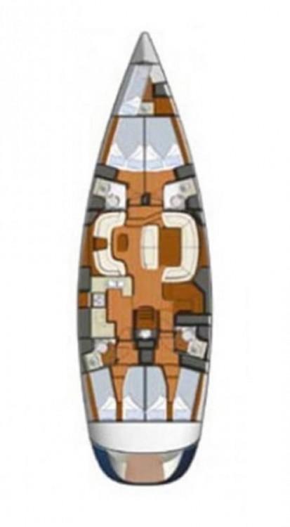 Rental yacht Lefkada - Jeanneau Sun Odyssey 54 DS on SamBoat