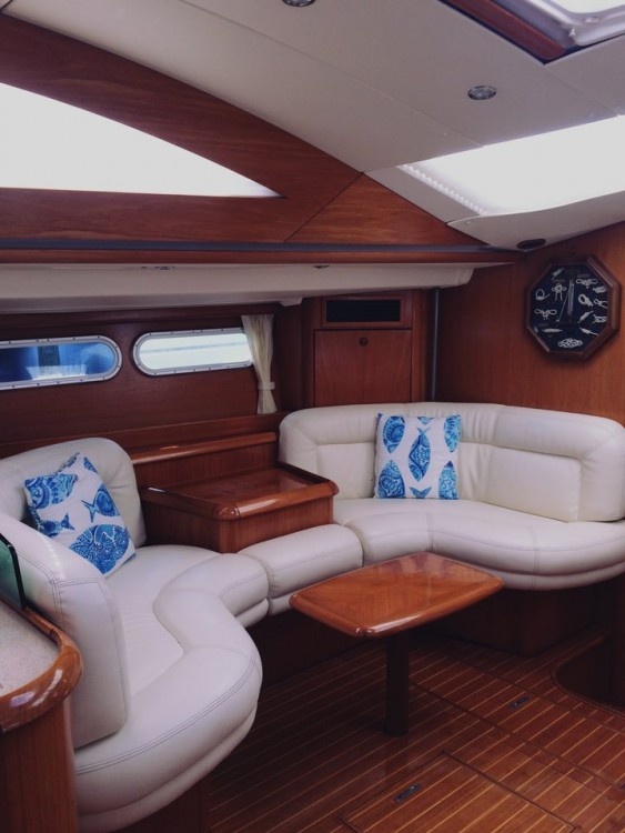 Jeanneau Sun Odyssey 54 DS between personal and professional Lefkada