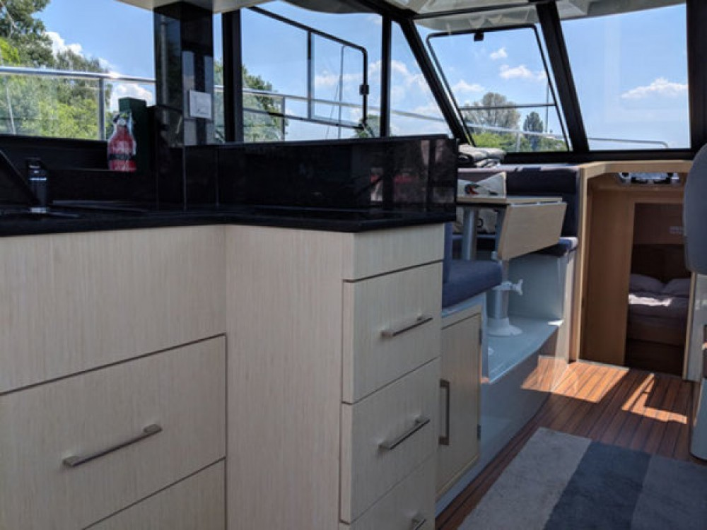 Rental Motor boat Futura-Yachts with a permit