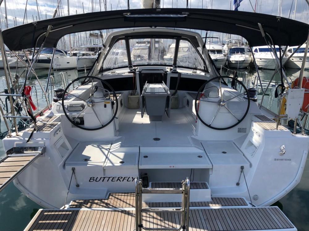 Boat rental Peloponnese cheap Oceanis 48 - 5 cab.