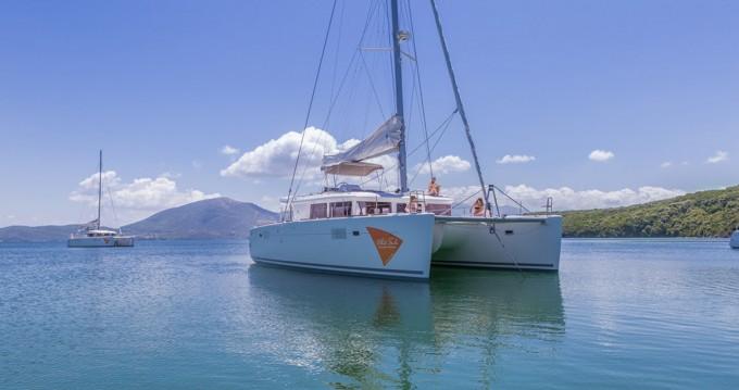 Boat rental Ionian Islands cheap Lagoon 450 F