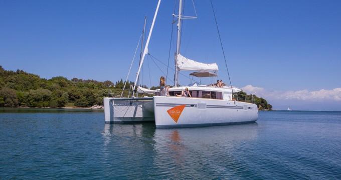 Lagoon Lagoon 450 F between personal and professional Lefkada (Island)