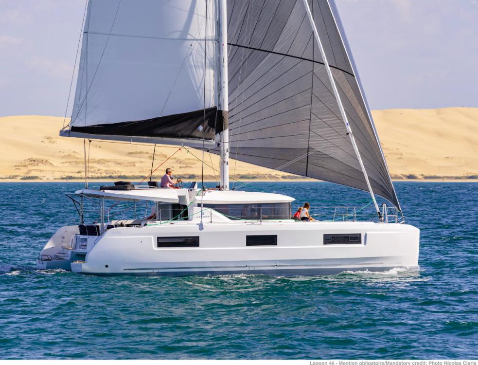 Rental Catamaran in Ionian Islands - Lagoon Lagoon 46 - 4 + 2 cab.
