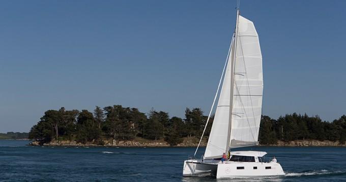 Rental Catamaran in Lefkada (Island) - Nautitech Nautitech 40