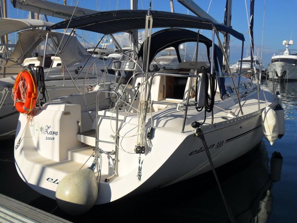 Boat rental Grad Zadar cheap Elan 333