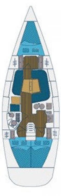 Boat rental Grad Zadar cheap Elan 40