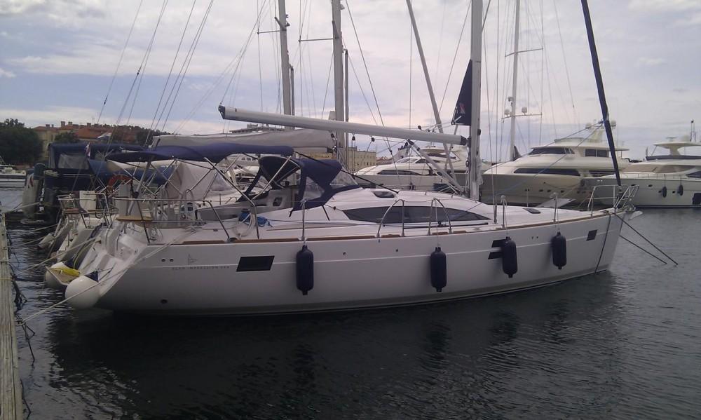 Rent a Elan Elan 444 Impression Grad Zadar
