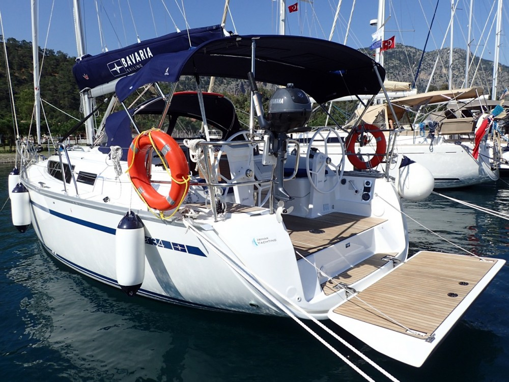 Boat rental Muğla cheap Bavaria Cruiser 34 - 2 cab.